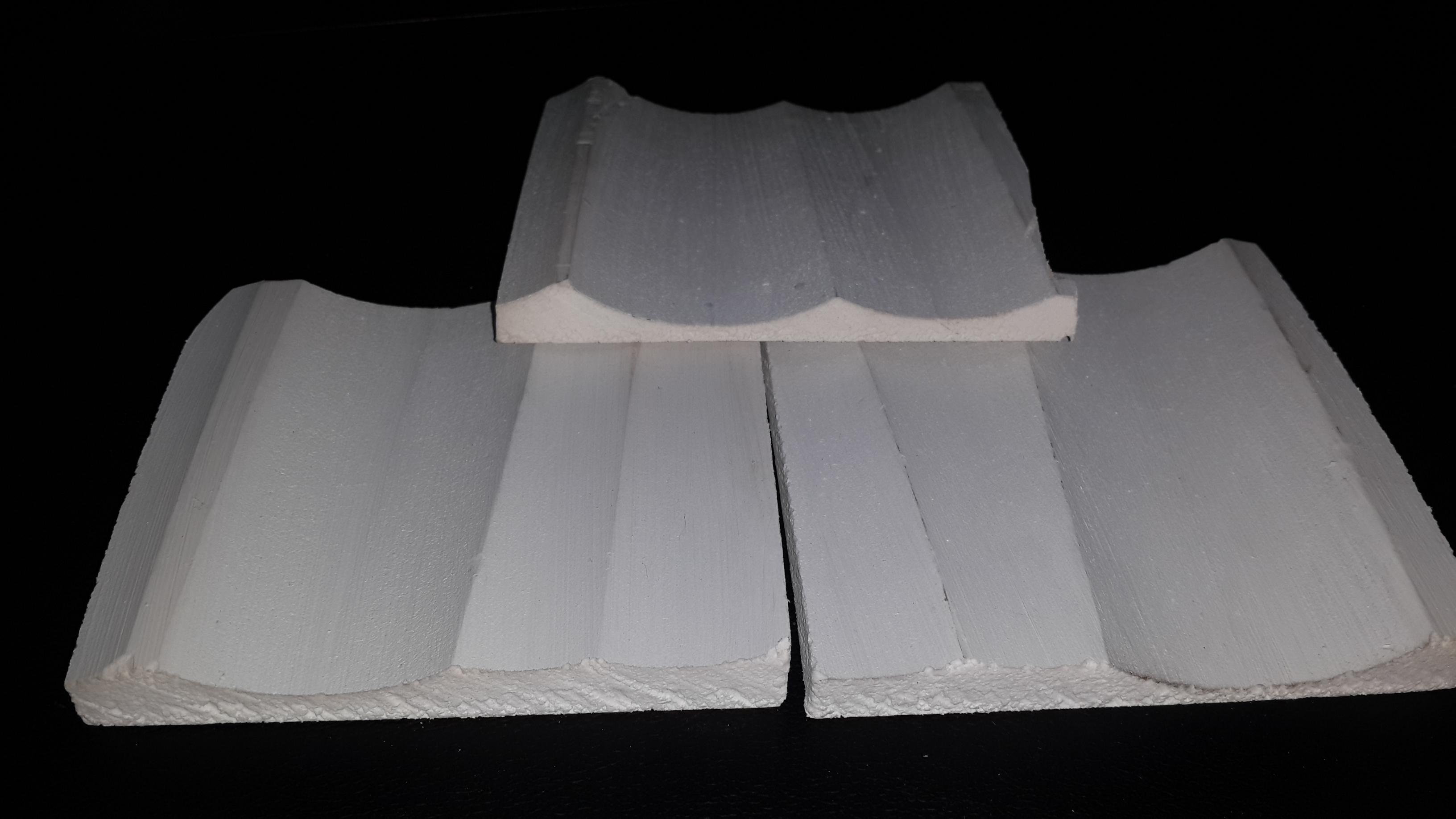 PVC exterior grade wall panel dinding3d