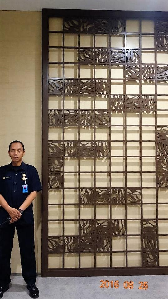 Jual Dinding3D dekoratif wall panel cocok untuk hotel bintang maupun rumah tinggal